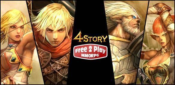 MMORPG 4story 4story-logo