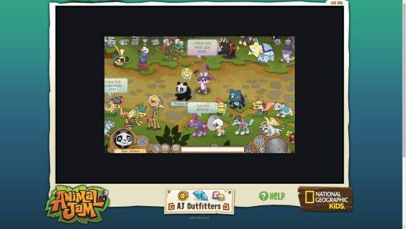 Animal Jam mmorpg game