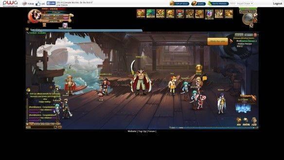 anime pirates chinese server