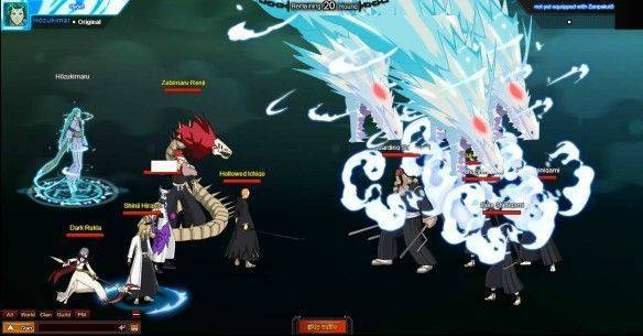 Bleach Online mmorpg game