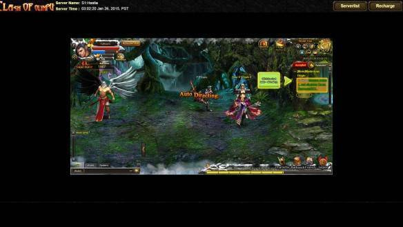 Clash of Olympus mmorpg game