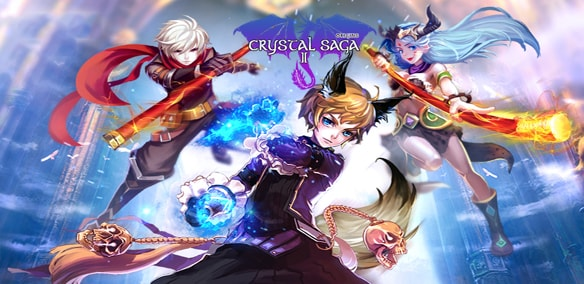 Crystal Saga II mmorpg game
