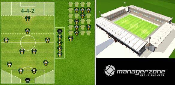 ManagerZone Football mmorpg game