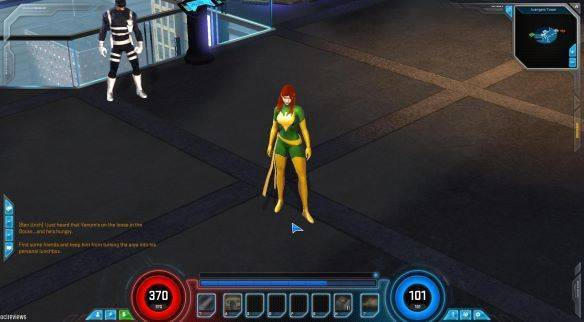 Marvel Heroes Omega mmorpg game