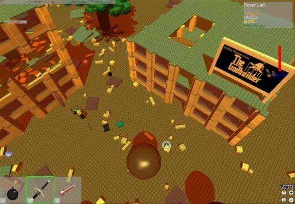 Roblox mmorpg game