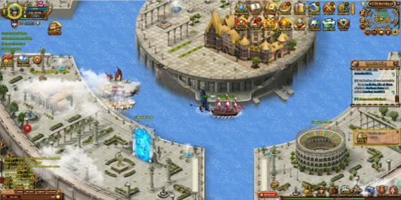 Seas of Gold mmorpg game