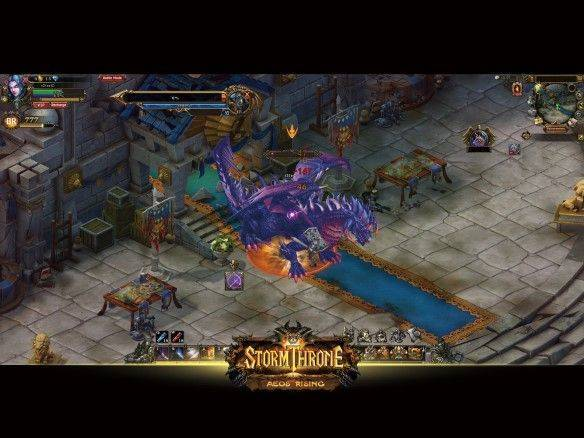Stormthrone: Aeos Rising mmorpg game