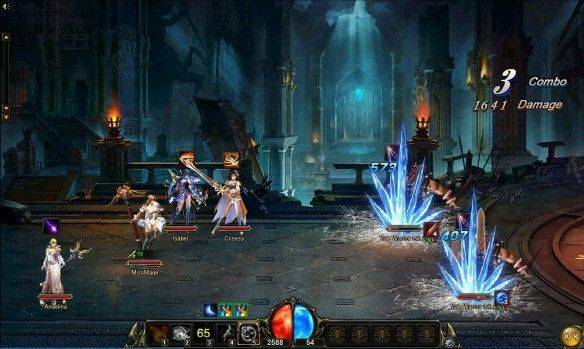 Sword Saga mmorpg game