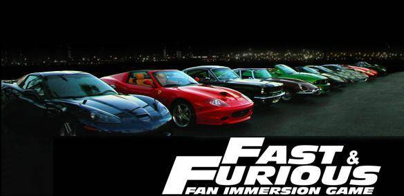 The Fast and the Furious mmorpg game