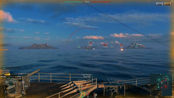 World of Warships mmorpg game